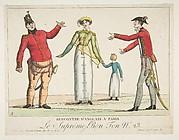 Recontre d'Anglais a Paris; Le Suprême Bon-Ton No. 23