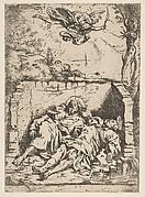 Death of St. Peter and St. Paul (Saint Pierre et Saint Paul dans le tombeau)