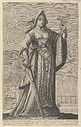 A French Christian Woman (Une Dame Chrétienne et Française)