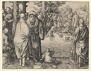 The Baptism of Christ in the River Jordan