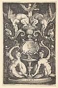 Panel of Ornament with Two Sirens