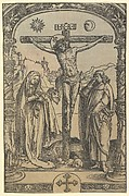 The Crucifixion used in Missale Traiectense (Utrecht Missal), Leiden, 1514