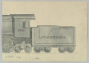 Design for Model Train, Pennsylvania (back half)