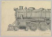 Design for Model Train, Pennsylvania (front half)