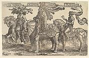 Three Pagan Heroes, Hector, Alexander, Julius Caesar