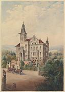 View of a Swiss Villa