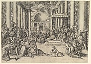 Constantine Presenting the City of Rome to the Holy See