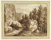 A Rocky Landscape at Civita Castellana