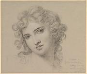 Portrait of Emma Hamilton