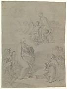 The Virgin Appearing to Saint Joseph Calasanctius