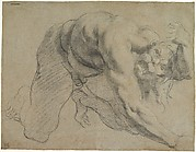 Crawling Male Figure (Study for Cacus).