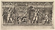 Speculum Romanae Magnificentiae: Bas-Relief with Three Cupids