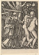 The Expulsion from the Paradise, after Dürer