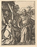 Christ Taking Leave of His Mother, after Dürer