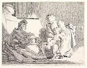 A Child with a Dog (L'enfant et le bouledogue ou la première leçon d'équitation)