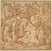 The Contest Between Athena and Poseidon for the Possession of Athens