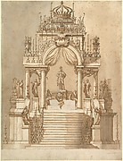 Design for a Catafalque for King Philip IV of Spain