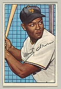 Monte Irvin, Left Field, New York Giants, from the series Picture Cards (no. 162)