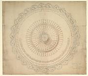 Design for a Porcelain Plate