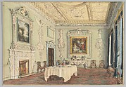 Kirtlington Park, Oxfordshire: View of the Dining Room