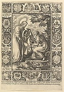 Exemplar Virtutum, from the Allegorical Scenes from the Life of Christ