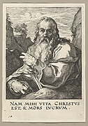 Saint Paul, from Christ and the Apostles