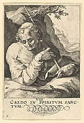 Saint  Matthew, from Christ and the Apostles