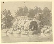 Design for Rock-work at Virginia Water, Windsor Great Park