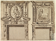 Design for Two Chimneypieces