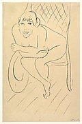 Nude Seated in a Rocking Chair