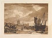 Scene on the French Coast (Liber Studiorum, part I, plate 4)