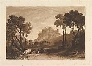 The Castle above the Meadows (Liber Studiorum, part II, plate 8)