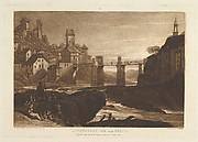 Lauffenbourgh on the Rhine, from Liber Studiorum, part VI