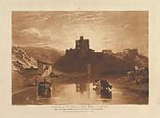 Norham Castle on the Tweed (Liber Studiorum, part XII, plate 57)