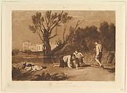 Young Anglers (Liber Studiorum, part VII, plate 32)
