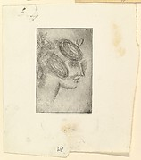 Female Head (Girl's Head in Profile)