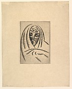 Female Head, Draped (Woman's Head in Shawl)