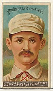 Bob Caruthers, Pitcher, Brooklyn, from the Goodwin Champion series for Old Judge and Gypsy Queen Cigarettes