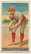 Jack Glasscock, Shortstop, Indianapolis, from the Goodwin Champion series for Old Judge and Gypsy Queen Cigarettes