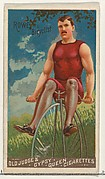 W.A. Rowe, Bicyclist, from the Goodwin Champion series for Old Judge and Gypsy Queen Cigarettes
