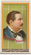 Vignaux, Billiards, from the Goodwin Champion series for Old Judge and Gypsy Queen Cigarettes