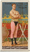Duncan C. Ross, Broad Swordsman, from the Goodwin Champion series for Old Judge and Gypsy Queen Cigarettes