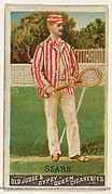 Sears, Lawn Tennis, from the Goodwin Champion series for Old Judge and Gypsy Queen Cigarettes