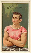 Teemer, Oarsman, from the Goodwin Champion series for Old Judge and Gypsy Queen Cigarettes