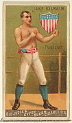 Jake Kilrain, Pugilist, from the Goodwin Champion series for Old Judge and Gypsy Queen Cigarettes
