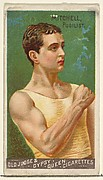 Mitchell, Pugilist, from the Goodwin Champion series for Old Judge and Gypsy Queen Cigarettes