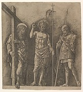 The Risen Christ between Saint Andrew and Saint Longinus