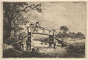 Two Anglers on a Bridge