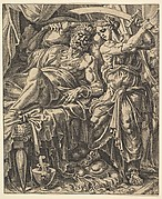 Judith Slaying Holofernes, from The Story of Judith and Holofernes