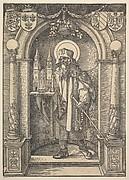 Saint Sebald in a Niche